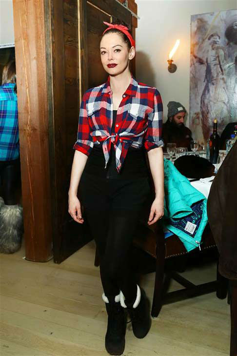 Rose McGowan appears at an event at the 2014 Sundance Film Festival in Park City, Utah on Jan. 18, 2014. <span class=meta>(Sara Jaye Weiss &#47; startraksphoto.com)</span>