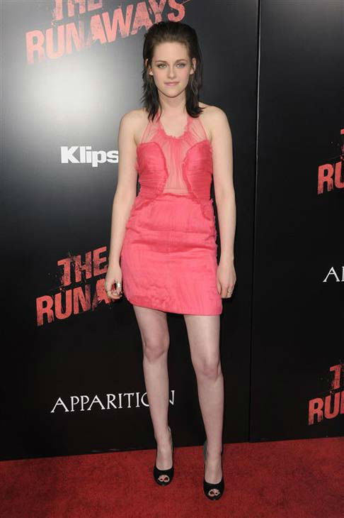 Kristen Stewart appears at the Los Angeles premiere of &#39;The Runaways&#39; on March 11, 2010. <span class=meta>(Kyle Rover &#47; startraksphoto.com)</span>