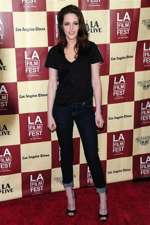 Kristen Stewart appears at the 2011 Los Angeles Film Festival on June 21, 2011.