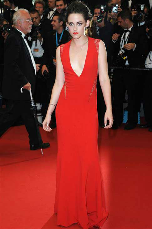 Kristen Stewart appears at the 65th annual Cannes Film Festival on May 25, 2012. <span class=meta>(CONTRAST &#47; startraksphoto.com)</span>
