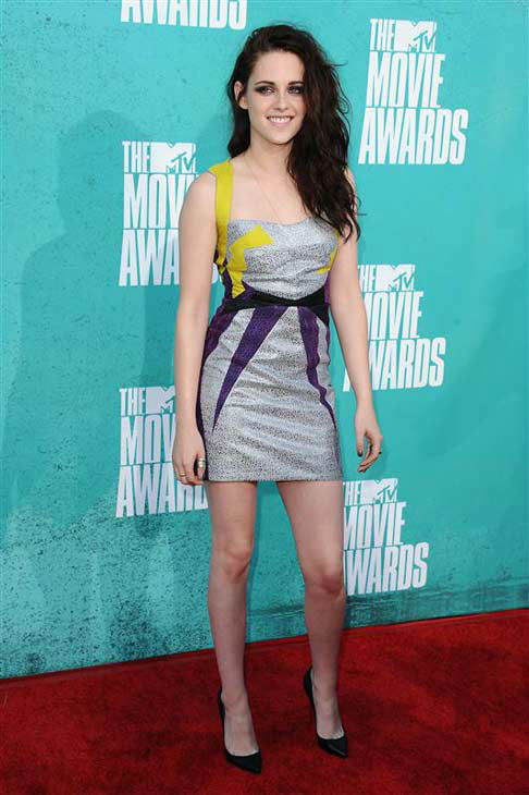 "<div class=""meta image-caption""><div class=""origin-logo origin-image ""><span></span></div><span class=""caption-text"">Kristen Stewart appears at the 2012 MTV Movie Awards in Los Angeles, California on June 3, 2012.  (Kyle Rover / startraksphoto.com)</span></div>"