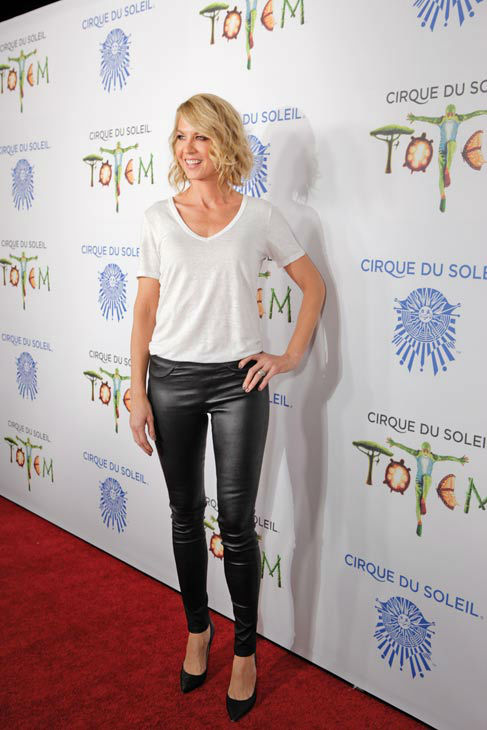 Jenna Elfman appears at the opening night of TOTEM from Cirque du Soleil in Santa Monica, California on Jan. 21, 2014. <span class=meta>(Matt Beard Photography)</span>