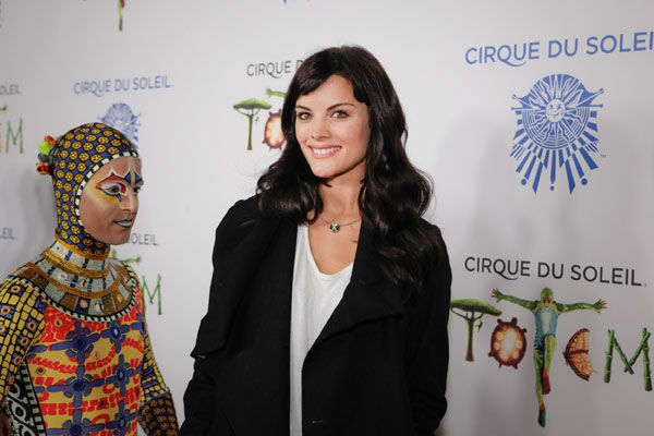 Jaimie Alexander appears at the opening night of TOTEM from Cirque du Soleil in Santa Monica, California on Jan. 21, 2014. <span class=meta>(Matt Beard Photography)</span>