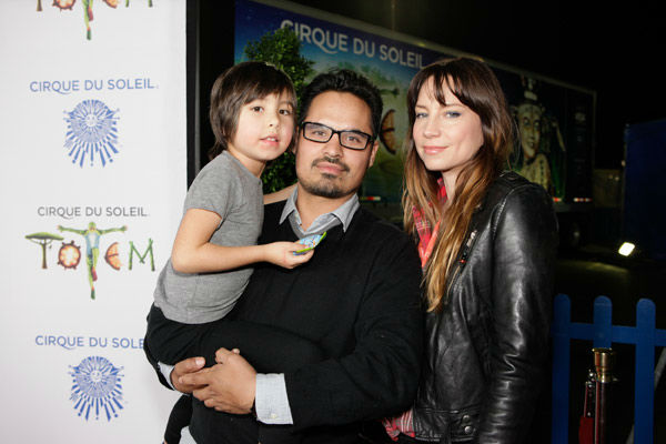 Michael Pena and family appear at the opening night of TOTEM from Cirque du Soleil in Santa Monica, California on Jan. 21, 2014. <span class=meta>(Matt Beard Photography)</span>