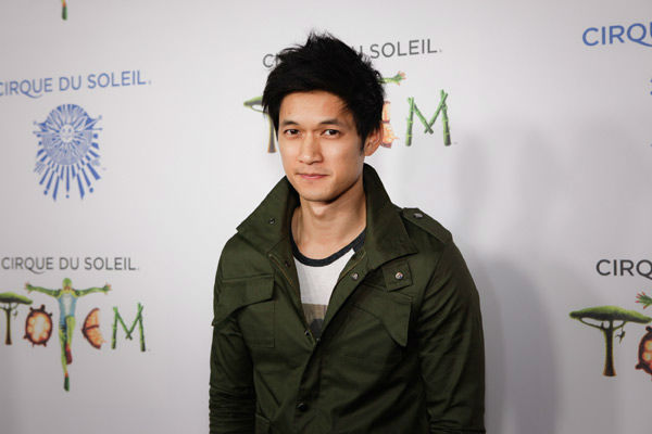 Harry Shum Jr. appears at the opening night of TOTEM from Cirque du Soleil in Santa Monica, California on Jan. 21, 2014. <span class=meta>(Matt Beard Photography)</span>