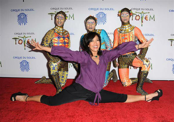 Carrie Ann Inaba appears at the opening night of TOTEM from Cirque du Soleil in Santa Monica, California on Jan. 21, 2014. <span class=meta>(Daniel Robertson&#47;startraksphoto.com)</span>