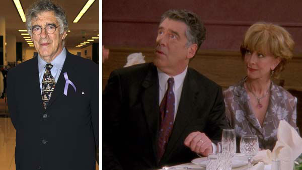 Elliott Gould appeared as Ross and Monica Geller&#39;s father, Jack Geller, throughout the duration of &#39;Friends.&#39; Along with their mother, Judy &#40;played by Christina Pickles&#41;, the Geller parents were there to provide Ross and Monica with advice, as well as attended several milestone events throughout the course of the series.   Gould has starred in several films and television shows throughout his more than 50 year career. Recently, Gould starred in the &#39;Ocean&#39;s Eleven&#39; film series and appeared in an episode of Showtime&#39;s &#39;Ray Donovan&#39; in 2013.   &#40;Pictured: Elliott Gould and Christina Pickles appear in an episode of &#39;Friends.&#39; Elliott Gould appears at The Actors Fund Tony Awards Kick-Off Cocktail Reception in Century City, California on May 23, 2012.&#41;  <span class=meta>(NBC &#47; Scott Appel &#47; startraksphoto.com)</span>