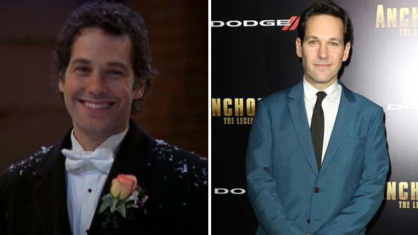 Paul Rudd guest starred as Phoebe&#39;s love interest Mike Hannigan during the final seasons of &#39;Friends.&#39; Phoebe and Mike met by mistake, when Joey promised Phoebe that he would set her up with a friend of his, named Mike, only to find the first Mike he met off the street &#40;Rudd&#41;. Mike proposes to Phoebe during season 10, and the two have a wedding ceremony outside Central Perk in the snow.   Rudd starred in several hit films prior to his role on &#39;Friends,&#39; including &#39;Clueless&#39; and &#39;Wet Hot American Summer.&#39; He has since gone on to star in more hit films, including the &#39;Anchorman&#39; series, &#39;I Love You Man,&#39; &#39;Knocked Up&#39; and &#39;Role Models.&#39;  &#40;Pictured: Paul Rudd appears in an episode of &#39;Friends.&#39; Paul Rudd appears at the New York City premiere of &#39;Anchorman 2: The Legend Continues&#39; on Dec. 15, 2013.&#41;  <span class=meta>(NBC &#47; Kristina Bumphrey &#47; startraksphoto.com)</span>