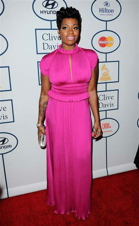 Fantasia Barrino appears at the 2014 Clive Davis Pre-Grammy party in Los Angeles, California on Jan. 25, 2014. <span class=meta>(Sara De Boer &#47; startraksphoto.com)</span>