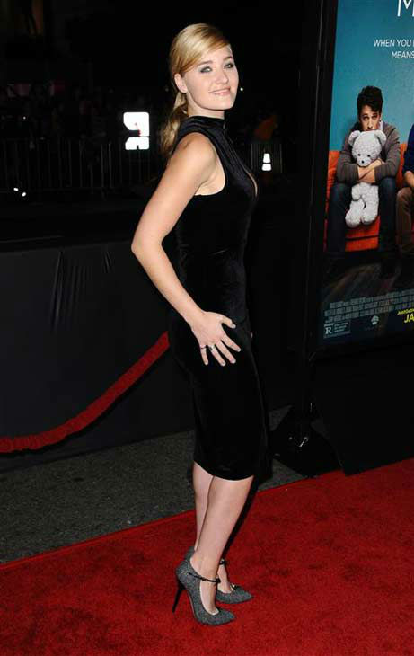 "<div class=""meta ""><span class=""caption-text "">Aly Michalka appears at the premiere of the R-rated comedy movie 'That Akward Moment' at L.A. Live Regal Cinemas in Los Angeles on Jan. 27, 2014. (Sara De Boer / Startraksphoto.com)</span></div>"