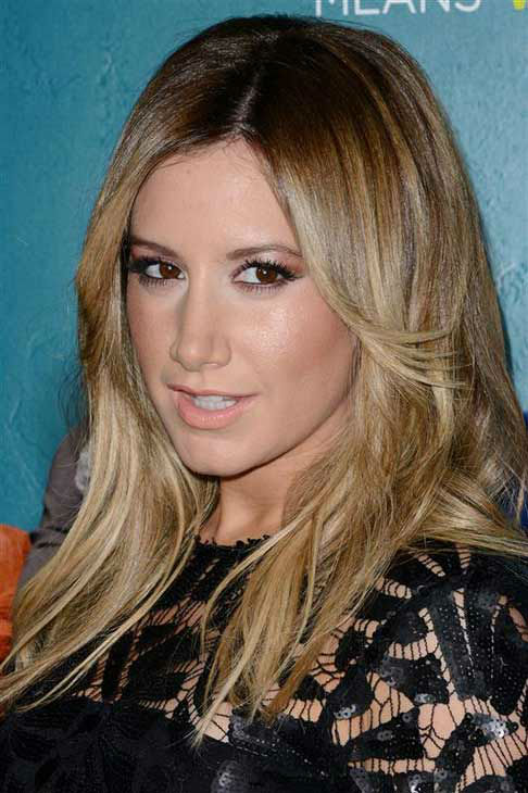"<div class=""meta ""><span class=""caption-text "">Ashley Tisdale appears at the premiere of the R-rated comedy movie 'That Akward Moment' at L.A. Live Regal Cinemas in Los Angeles on Jan. 27, 2014. (Lionel Hahn / Abacausa / Startraksphoto.com)</span></div>"