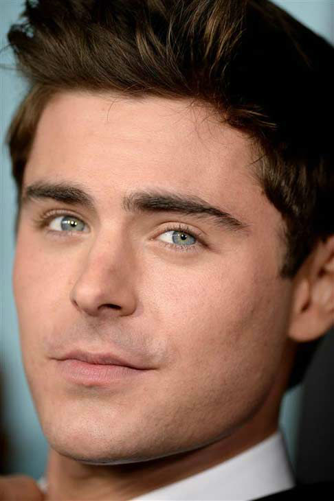 Zac Efron appears at the premiere of the R-rated comedy movie 'That Akward Moment' at L.A. Live Regal Cinemas in Los Angeles on Jan. 27, 2014.
