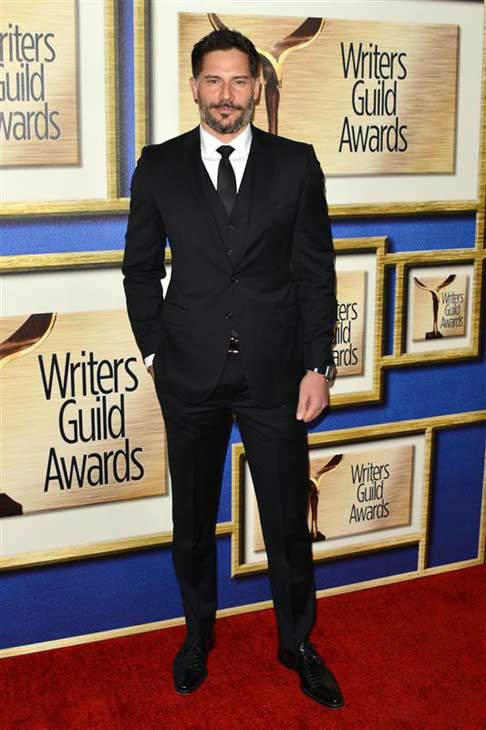Joe Manganiello appears at the 2014 Writer&#39;s Guild Awards in Los Angeles, California on Feb. 1, 2014. <span class=meta>(Tony DiMaio &#47; startraksphoto.com)</span>