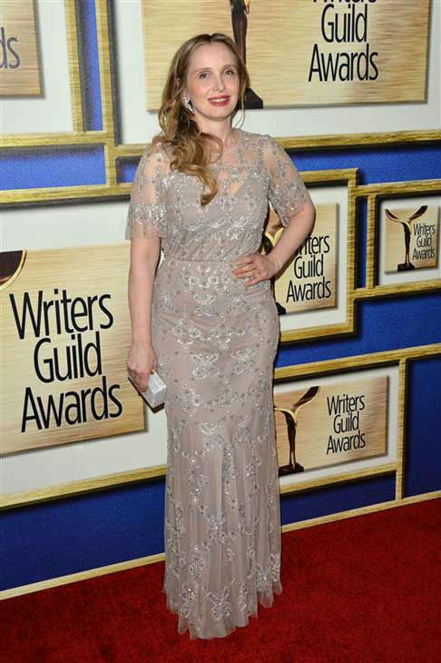 "<div class=""meta image-caption""><div class=""origin-logo origin-image ""><span></span></div><span class=""caption-text"">Julie Delpy appears at the 2014 Writer's Guild Awards in Los Angeles, California on Feb. 1, 2014. (Tony DiMaio / startraksphoto.com)</span></div>"