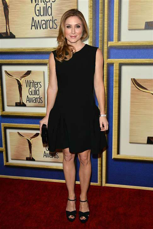 "<div class=""meta ""><span class=""caption-text "">Sasha Alexander appears at the 2014 Writer's Guild Awards in Los Angeles, California on Feb. 1, 2014. (Tony DiMaio / startraksphoto.com)</span></div>"