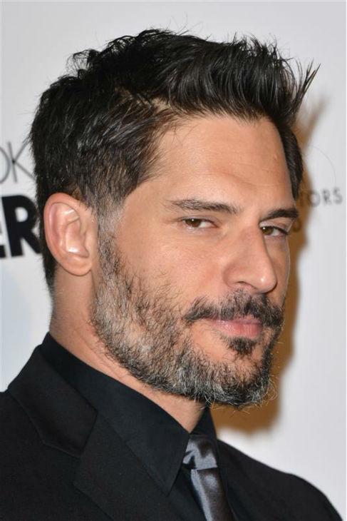"<div class=""meta ""><span class=""caption-text "">The 'Sexy-Side-Eye' stare: Joe Manganiello appears at the 18th annual Art Directors Guild Excellence in Production Design Awards in Beverly Hills, California on Feb. 8, 2014. (Tony DiMaio / Startraksphoto.com)</span></div>"