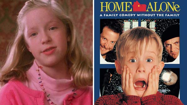 Angela Goethals appears in a scene from the 1990 film 'Home Alone,' which starred Macaulay Culkin.
