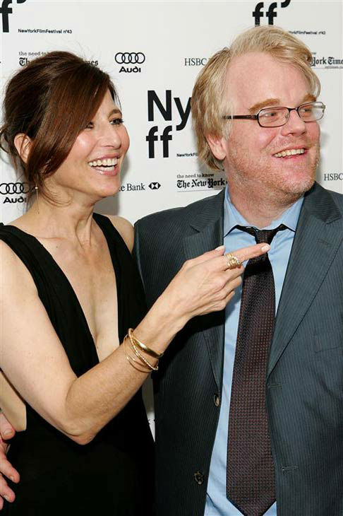 Catherine Keener and Philip Seymour Hoffman appear at the premiere of &#39;Capote&#39; in New York City on Sept. 27, 2005.  <span class=meta>(Marion Curtis&#47;startraksphoto.com)</span>