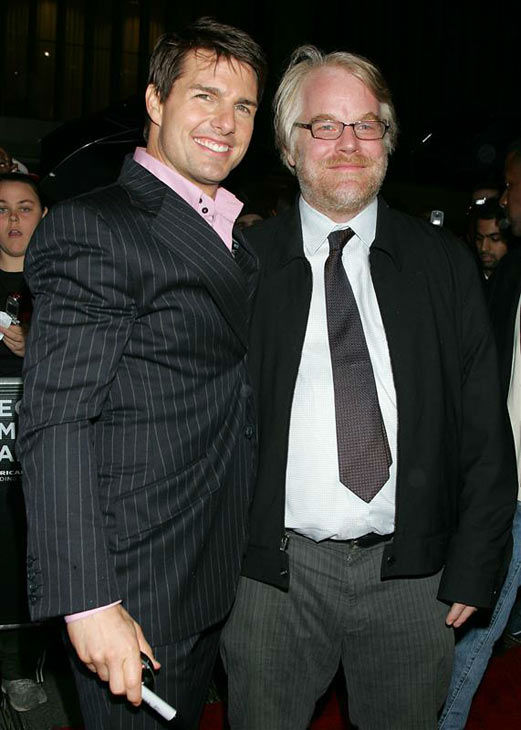 "<div class=""meta ""><span class=""caption-text "">Tom Cruise and Philip Seymour Hoffman appear at the premiere of 'Mission Impossible III' in New York City on May 3, 2006. (Alex Oliveira/startraksphoto.com)</span></div>"