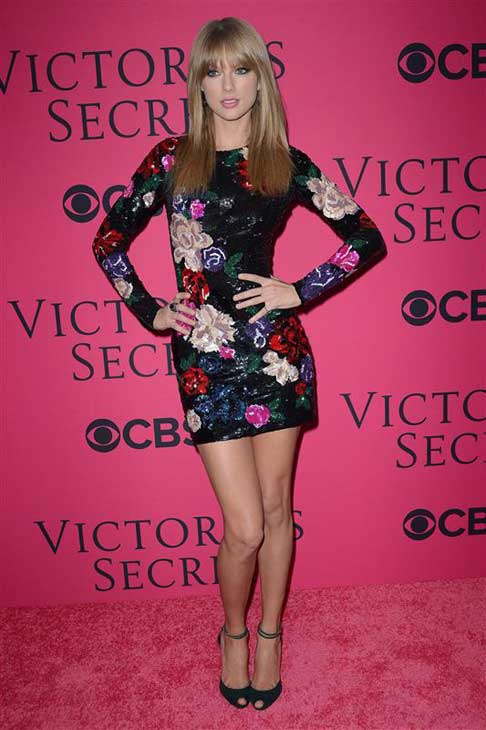 "<div class=""meta ""><span class=""caption-text "">Taylor Swift appears at the 2013 Victoria's Secret Fashion Show in New York City on Nov. 13, 2013.  (Humberto Carreno / startraksphoto.com)</span></div>"