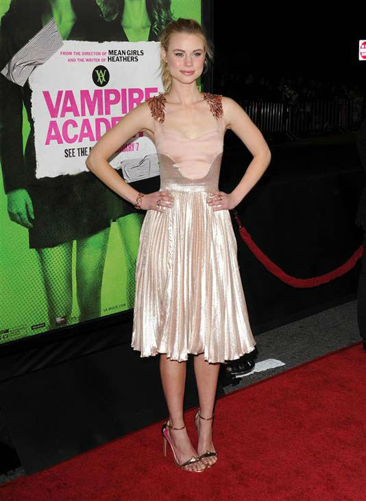 Lucy Fry appears at the Los Angeles premiere of &#39;Vampire Academy&#39; on Feb. 4, 2014.  <span class=meta>(Lionel Hahn&#47;AbacaUSA&#47;startraksphoto.com)</span>