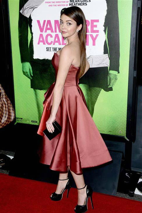 Sarah Hyland appears at the Los Angeles premiere of &#39;Vampire Academy&#39; on Feb. 4, 2014.  <span class=meta>(Lionel Hahn&#47;AbacaUSA&#47;startraksphoto.com)</span>