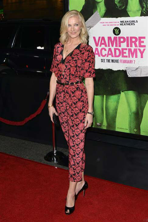 Joely Richardson appears at the Los Angeles premiere of &#39;Vampire Academy&#39; on Feb. 4, 2014.  <span class=meta>(Tony DiMaio&#47;startraksphoto.com)</span>