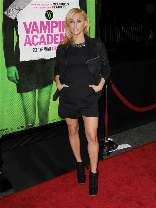 "<div class=""meta ""><span class=""caption-text "">Cassie Scerbo appears at the Los Angeles premiere of 'Vampire Academy' on Feb. 4, 2014.  (Lionel Hahn/AbacaUSA/startraksphoto.com)</span></div>"
