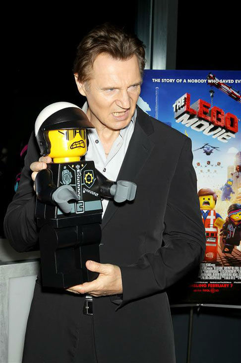 Liam Neeson appears at the New York screening of &#39;The LEGO Movie&#39; on Feb. 5, 2014. <span class=meta>(Marion Curtis&#47;Startraksphoto.com)</span>