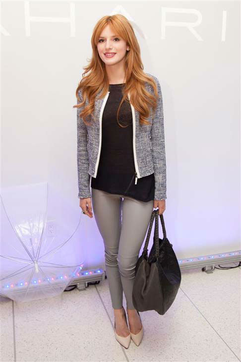 Bella Thorne appears at the Elie Tahari presentation during Fall 2014 Mercedes-Benz Fashion Week in New York City on Feb. 11, 2014.  <span class=meta>(Myrna Suarez &#47; startraksphoto.com)</span>