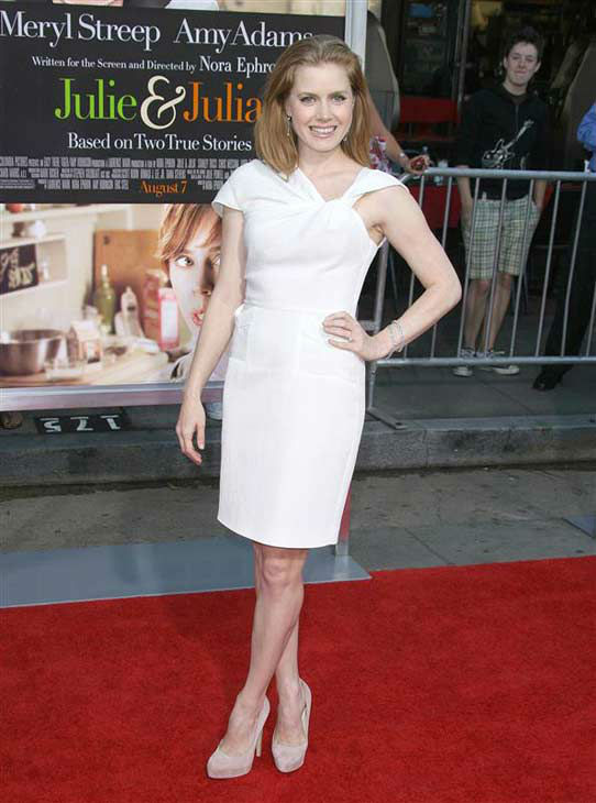 Amy Adams appears at the Los Angeles premiere of &#39;Julie and Julia&#39; on July 27, 2009.  <span class=meta>(Andy Fossum &#47; startraksphoto.com)</span>