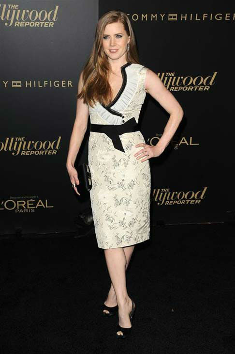 Amy Adams appears at The Hollywood Reporter Big Ten Party in Los Angeles, California on Feb. 24, 2011.  <span class=meta>(Tony DiMaio &#47; startraksphoto.com)</span>