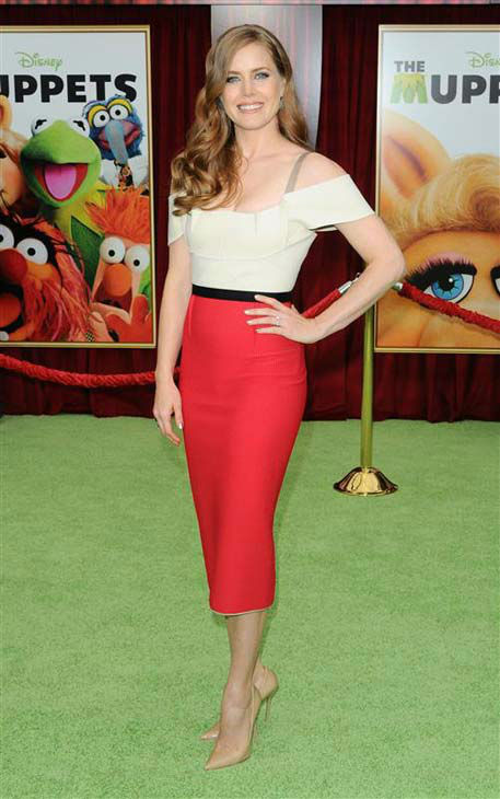 Amy Adams appears at the Los Angeles premiere of &#39;The Muppets&#39; on Nov. 12, 2011.  <span class=meta>(Sara De Boer &#47; startraksphoto.com)</span>