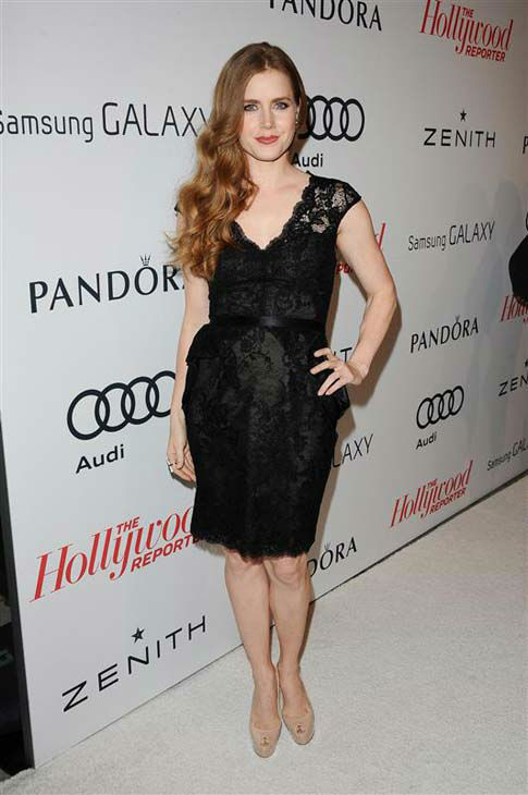 Amy Adams appears at The Hollywood Reporter Oscar Nominees&#39; Night in Los Angeles, California on Feb. 4, 2013.  <span class=meta>(Giulio Marcocchi &#47; startraksphoto.com)</span>