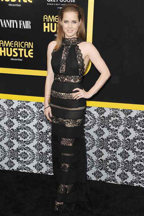 "<div class=""meta ""><span class=""caption-text "">Amy Adams appears at the New York City premiere of 'American Hustle' on Dec. 8, 2013.  (Bill Davila / startraksphoto.com)</span></div>"