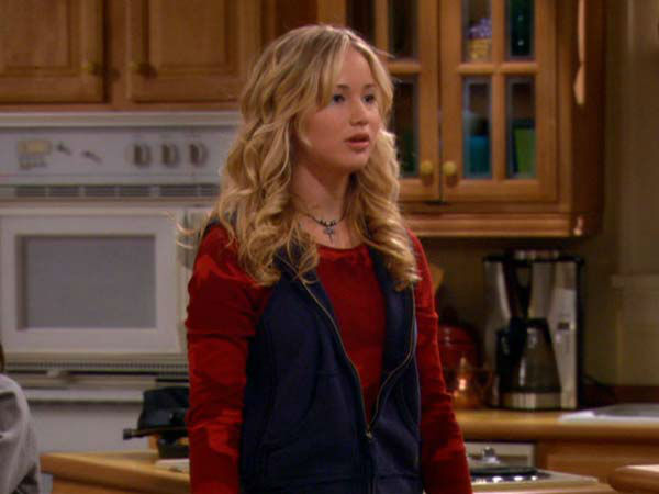Jennifer Lawrence appears in the television series &#39;The Bill Engvall Show.&#39; She played Lauren Pearson from 2007 to 2009 on the series.  <span class=meta>(Photo&#47;TBS)</span>