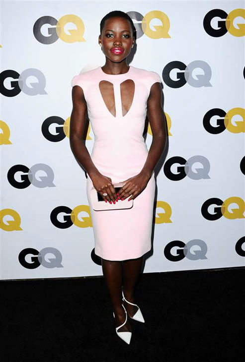 "<div class=""meta ""><span class=""caption-text "">Lupita Nyong'o appears at the GQ Men Of The Year Party on Nov. 12, 2013. (Sara De Boer/startraksphoto.com)</span></div>"