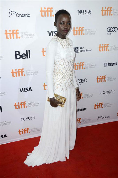 Nyong&#39;o appears at the 2013 Toronto International Film Festival on Sept. 6, 2013. <span class=meta>(Christian Lapid&#47;startraksphoto.com)</span>