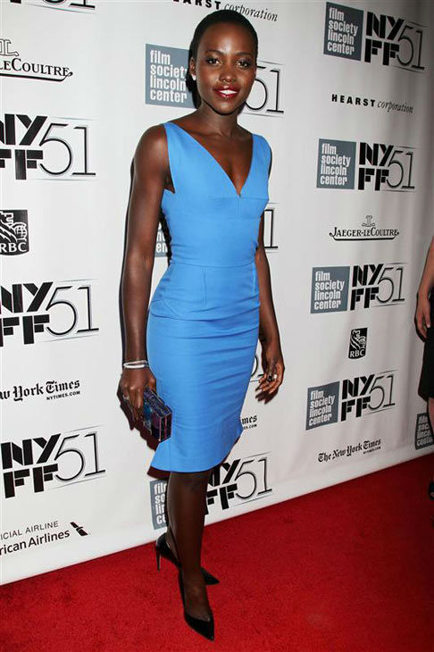 Lupita Nyong&#39;o appears at the 2013 New York Film Festival on Oct. 8, 2013. <span class=meta>(Dave Allocca&#47;Startraksphoto.com)</span>