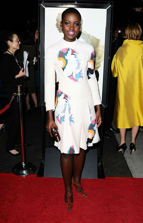 Lupita Nyong&#39;o appears at the Directors Guild of America Theater for a special screening of &#39;12 Years a Slave&#39; in Hollywood on Oct. 14, 2013. <span class=meta>(Sara De Boer&#47;startraksphoto.com)</span>