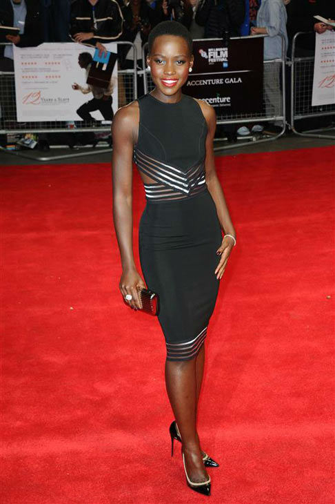 Lupita Nyong&#39;o appears at the premiere of &#39;12 Years A Slave&#39; during the 57th BFI Film Festival on Oct. 18, 2013. <span class=meta>(Aurore Marechal&#47;startraksphoto.com)</span>