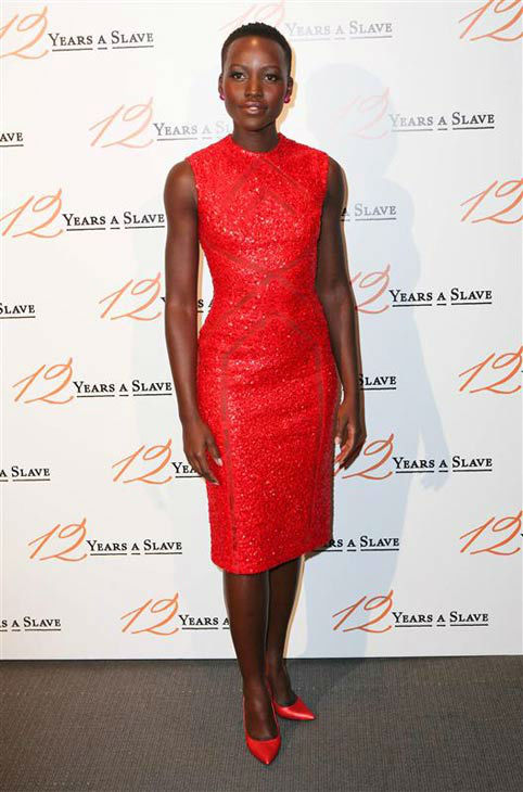 "<div class=""meta ""><span class=""caption-text "">Lupita Nyong'o appears at the France premiere of the Movie '12 years a slave' on Dec. 11, 2013. (Audrey Poree/Abaca/startraksphoto.com)</span></div>"