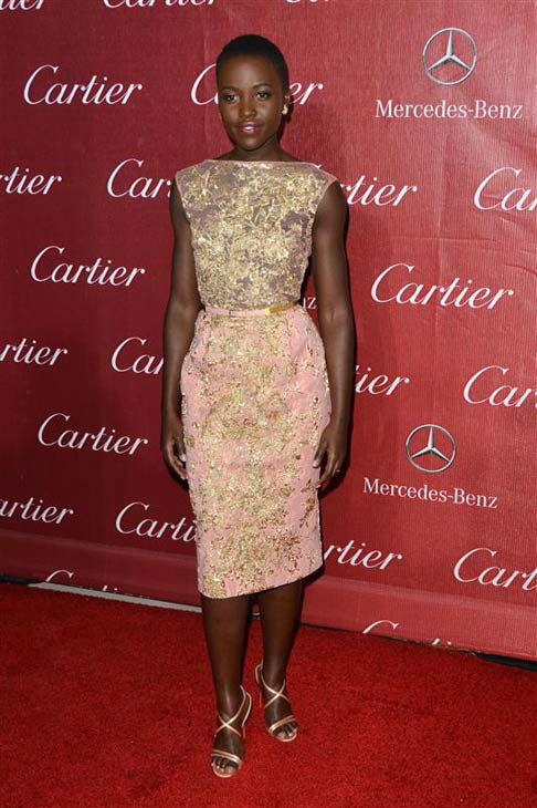 Lupita Nyong&#39;o appears at the 25th Annual Palm Springs International Film Festival on Jan. 4, 2014. <span class=meta>(Tony DiMaio&#47;startraksphoto.com)</span>