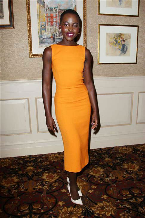 Lupita Nyong&#39;o appears at a special New York luncheon in honor of the female cast of &#39;12 YEARS A SLAVE&#39; on Jan. 7, 2014. <span class=meta>(Kristina Bumphrey&#47;Startraksphoto.com)</span>
