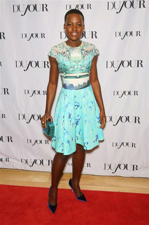 Lupita Nyong&#39;o appears at the DuJour Great Performances Issue event on Jan. 11, 2014. <span class=meta>(Chris Hatcher&#47;startraksphoto.com)</span>
