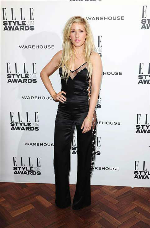 Ellie Goulding appears at the 2014 Elle Style Awards in London, England on Feb. 18, 2014.  <span class=meta>(Ian West &#47; startraksphoto.com)</span>