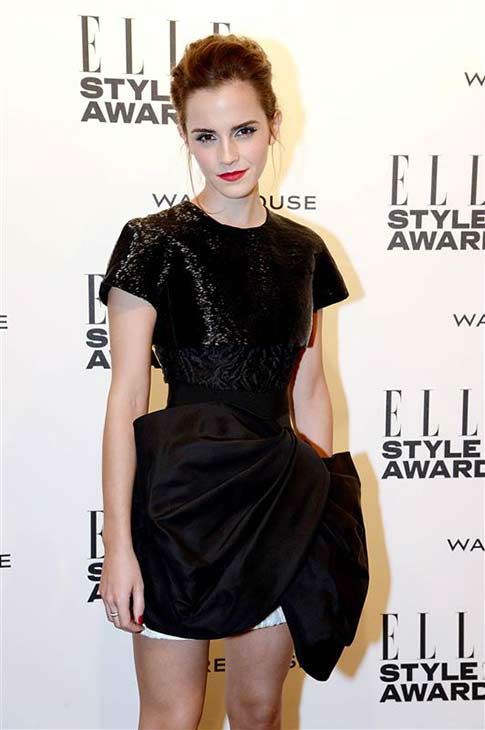 Emma Watson appears at the 2014 Elle Style Awards in London, England on Feb. 18, 2014.  <span class=meta>(Richard Young &#47; startraksphoto.com)</span>