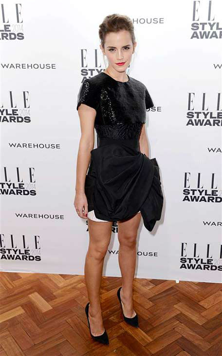 "<div class=""meta image-caption""><div class=""origin-logo origin-image ""><span></span></div><span class=""caption-text"">Emma Watson appears at the 2014 Elle Style Awards in London, England on Feb. 18, 2014.  (Doug Peters / startraksphoto.com)</span></div>"