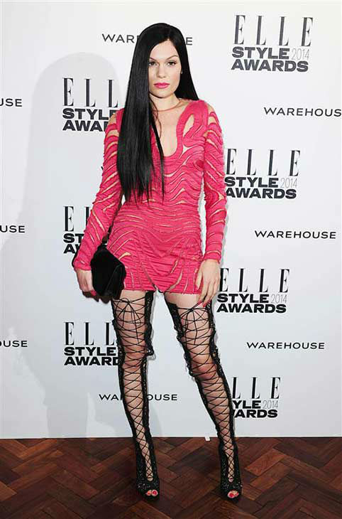 "<div class=""meta ""><span class=""caption-text "">Singer Jessie J appears at the 2014 Elle Style Awards in London, England on Feb. 18, 2014 (Ian West / startraksphoto.com)</span></div>"