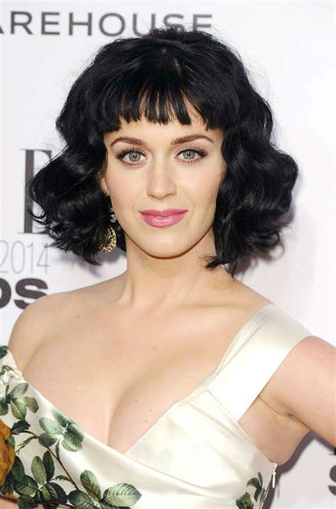 Katy Perry appears at the 2014 Elle Style Awards in London, England on Feb. 18, 2014. She was named Elles Woman of